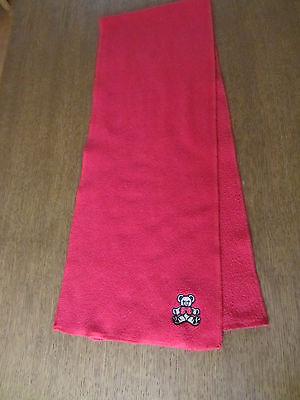 Fleeceschal, Roter Schal, Teddy