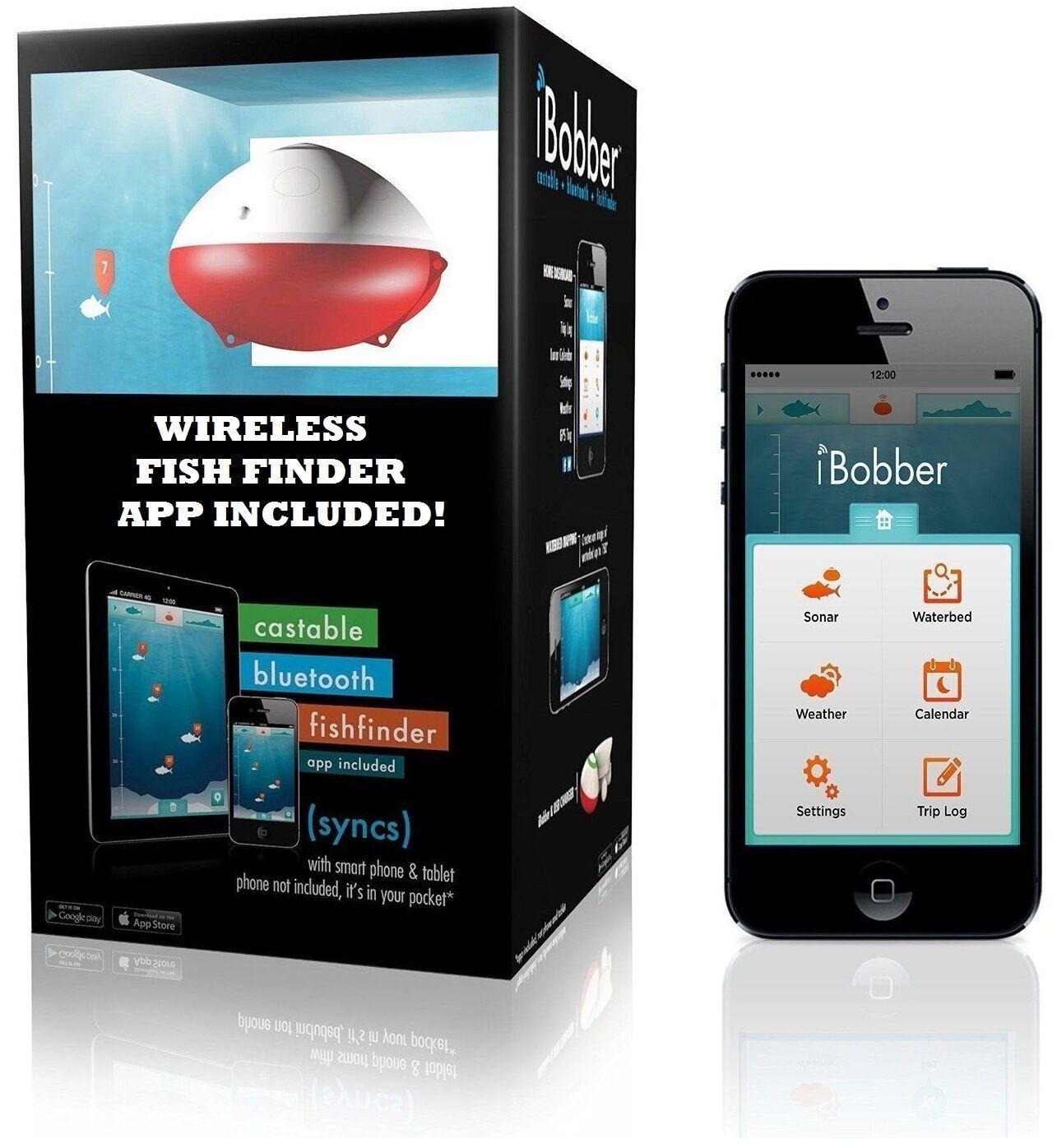 Wireless Blautooth Fish Finder kompatibel mit iOS und Android Fishing Secret