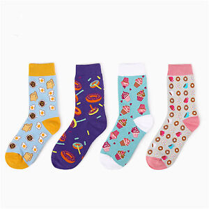 'Eggs-ice-cream-cakes-donuts-dessert-food-illustrator-series-cotton-Ms-socks' from the web at 'https://i.ebayimg.com/images/g/Ft8AAOSwNphWaQeH/s-l300.jpg'