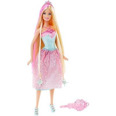 Barbie Dreamtopia Princess Doll Endless Hair Wispy Forest - DKB60