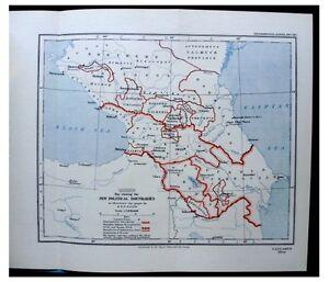 1927-Allen-CAUCASUS-Political-Boundaries-WITH-COLOR-MAP-5