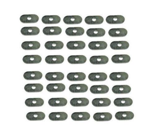 BD542//3 Confezione da 40 E-Type INOX OVALE COFANO Rondelle