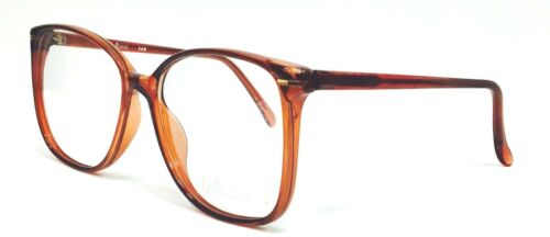 New Vintage Retro Large Glasses//Spectacle frame Smoke Brown For prescription