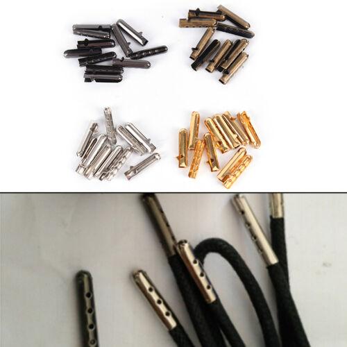 10pcs//20pcs Metal Aglets DIY Shoelaces Repair Shoe Lace Tips Replacement End*~*