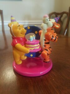 Image Is Loading Winnie The Pooh Amp Tigger Ceramic Birthday Cake
