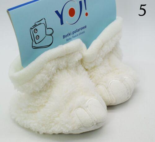 Baby Boys Girls Thermal Slipper Socks Toddler Cotton Home Boots Fleece