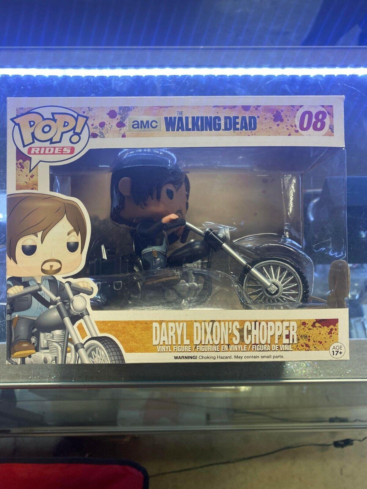 POP VINYL The Walking Dead Daryl Dixons Chopper  08