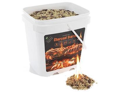 Instafire 2-Gallon Seau de eco-friendly granulé vrac charbon briquette Sta