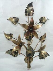 Lamps Delicious Apliques De Pared Hierro Forjado En Giglio Hojas Decorative Arts