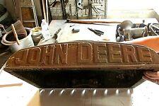 Old John Deere Unstyled D Tractor Radiator Top Tank Desk Art Craft