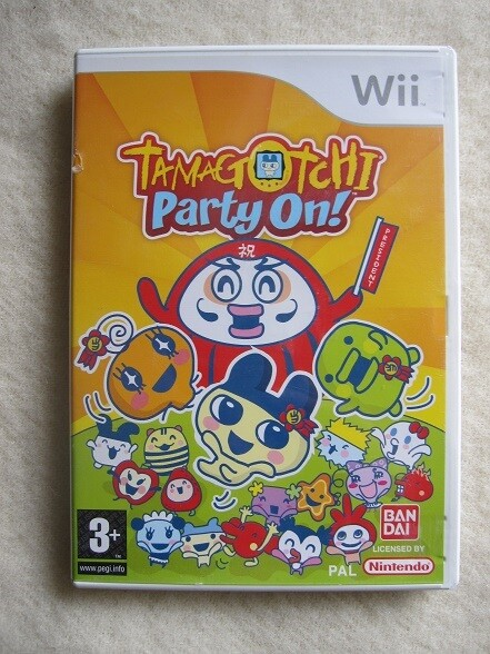 Tamagotchi party on!, Nintendo Wii, - Incl. manual - I org…