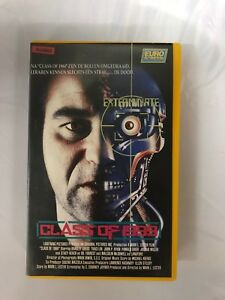 Class-Of-1999-Horror-Ex-Rental-Vintage-Big-Box-VHS-Tape-English-with-dutch-subs