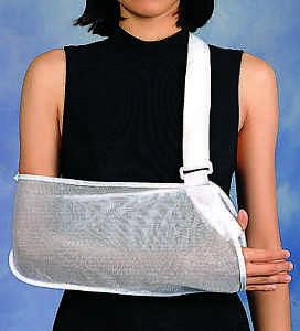 La imagen se está cargando  Cabestrillo-de-hombro-brazo-de-Malla-Cuidado-Solace- 93c56a6e0bec