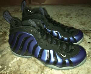 official photos 2fe68 a5565 Image is loading NIKE-Foamposite-One-Sharpie-Black-Royal-Blue-Basketball-