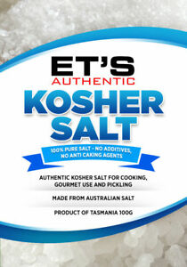 100-Australian-gourmet-KOSHER-SALT-FREE-POSTAGE-Order-before-2pm-we-post-today