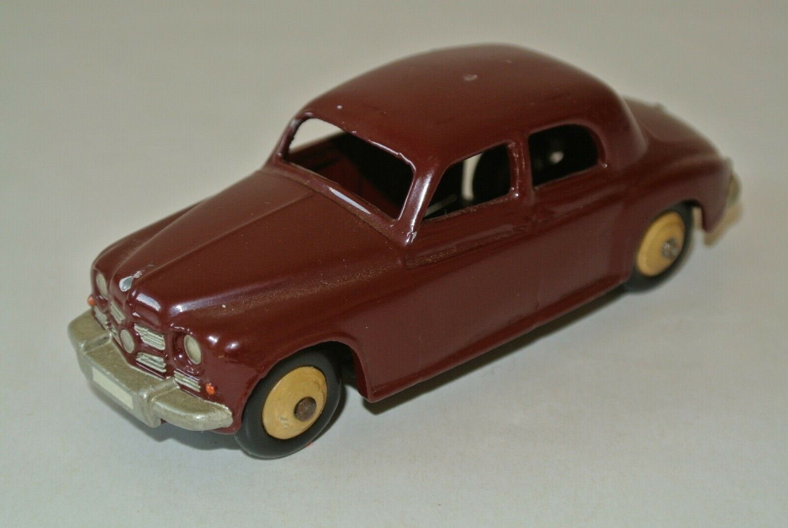 DINKY giocattoli 156 ROVER 75, p4, rosso scuro, 1 43, stessa, senza imbtuttiaggio originale
