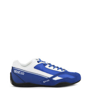 SCARPE-SPARCO-SP-F3-BLUE-WHITE-BLU-BIANCO-RACING-UOMO-SNEAKERS-PELLE