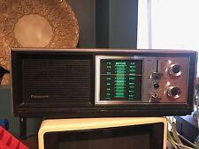 Panasonic RE-7273 Vintage AM FM WX Table Desk Weather Band Radio