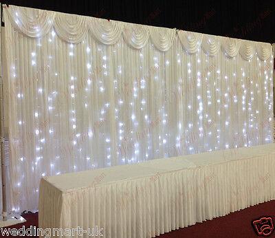 Fairylight Heavy Duty Wedding Backdrop Package for Sale
