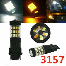 2x 3157 Led Turn Signal Switchback Drl Parking Light Bulb For Dodge Bright Lamp