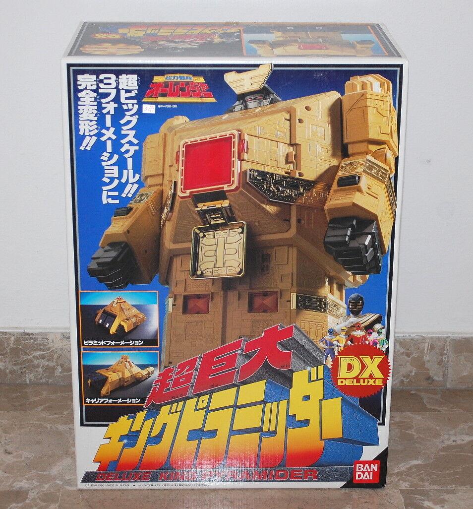Power Rangers Zeo Dx King Pyramider Ohranger Sentai ranger Bandai
