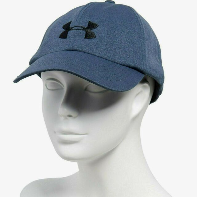 Under Armour Renegade Women's Baseball Cap Hat Blue Black Logo One Size MSP$25