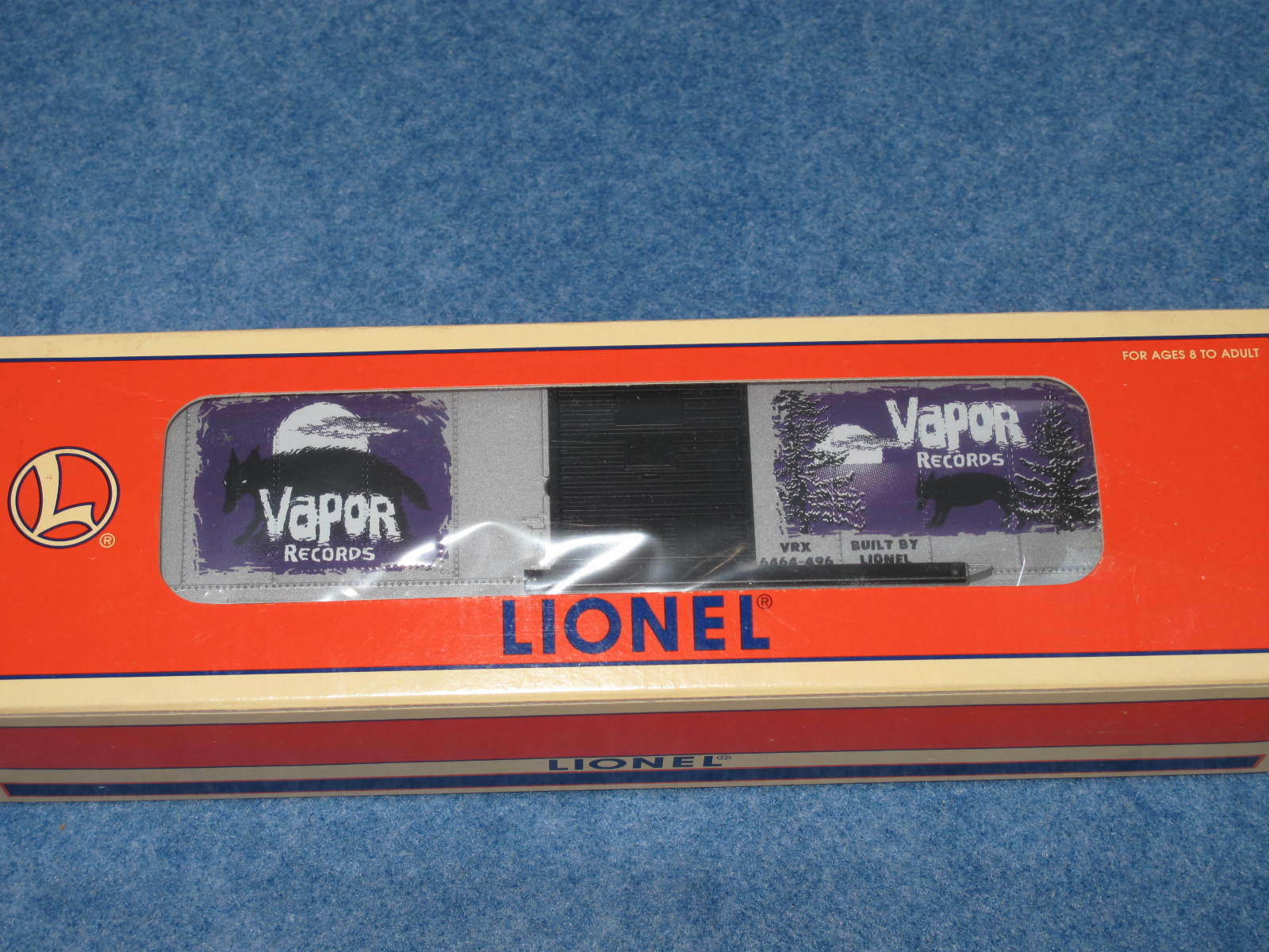 1997 Lionel 6-29218 Vapor Records Box Car 6464-496 L1010