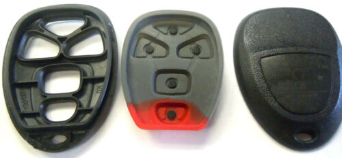keyless entry remote GMC car start 5 button pad case shell factory replacement