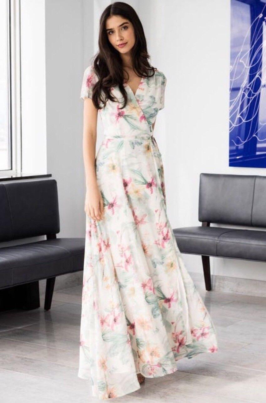 NWT Yumi Kim Calypso Floral Dress Storlek Medium Springa Fling