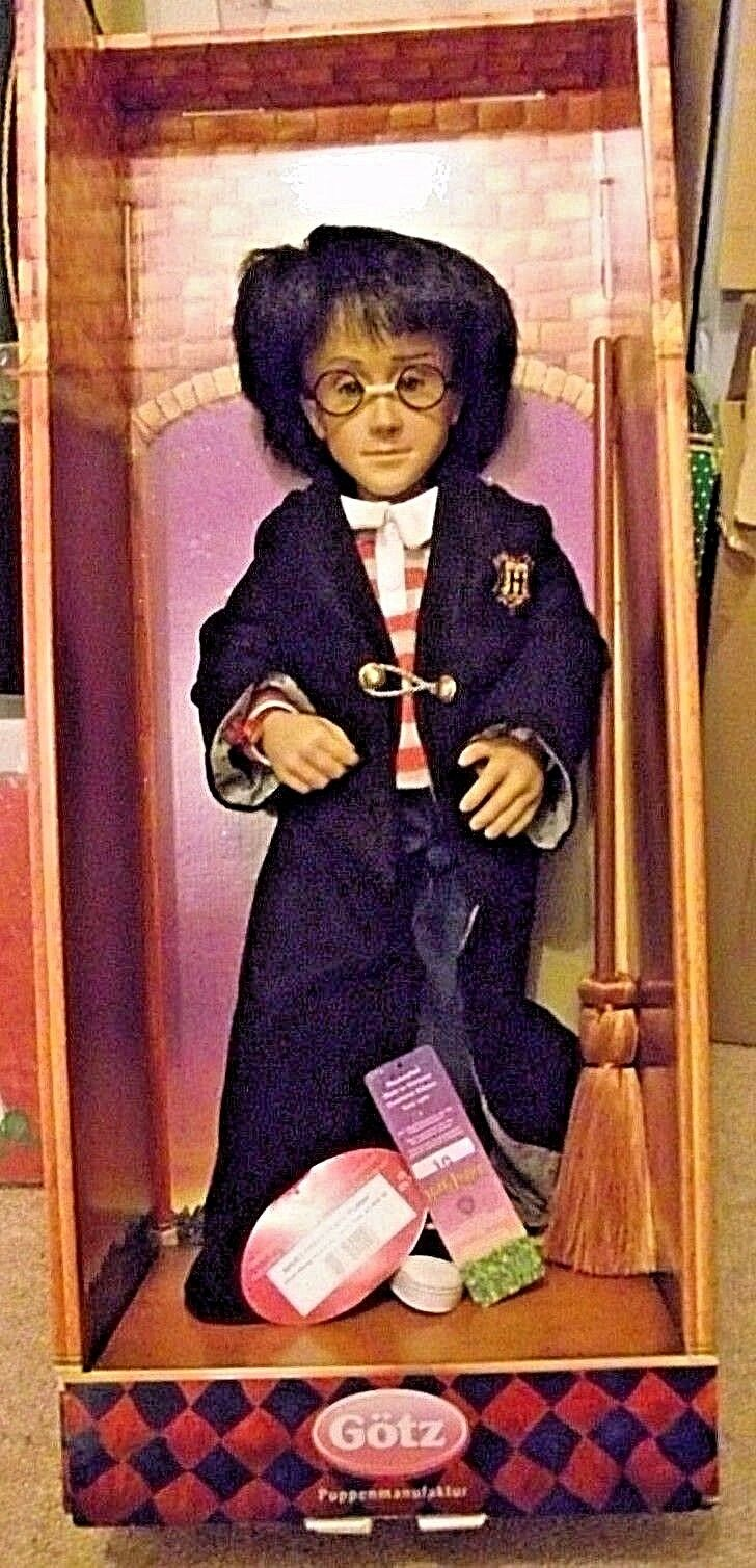 Harry Potter doll LARGE made by Gotz 18 inch FIRST BATCH vintage