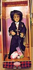 Harry Potter doll by Gotz 18 inch complete original outfit broom glasses box
