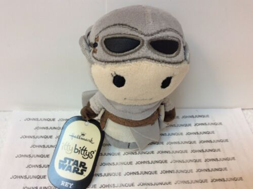 HALLMARK ITTY BITTYS REY New with Tag STAR WARS GREAT PRICE WE SHIP FAST!!