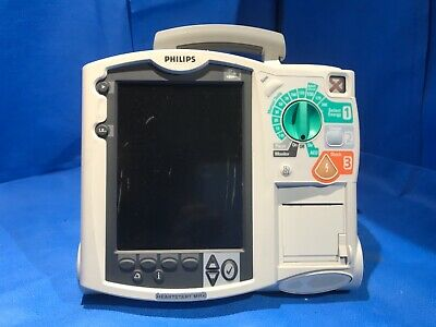Philips Heartstart MRX M3535A Defibrillator with ECG option only needs  batteries | eBay