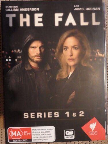 1 of 1 - The Fall : Series 1 & 2 (DVD, 2015, 4-Disc Set, Like New, Region 4) b4