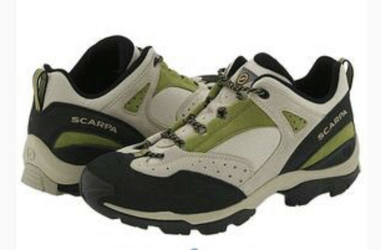 Women's SCARPA EGO EGO EGO LADY Green Trekking Hiking Approach Boots shoes Sz 39.5 US 8 2b12f3