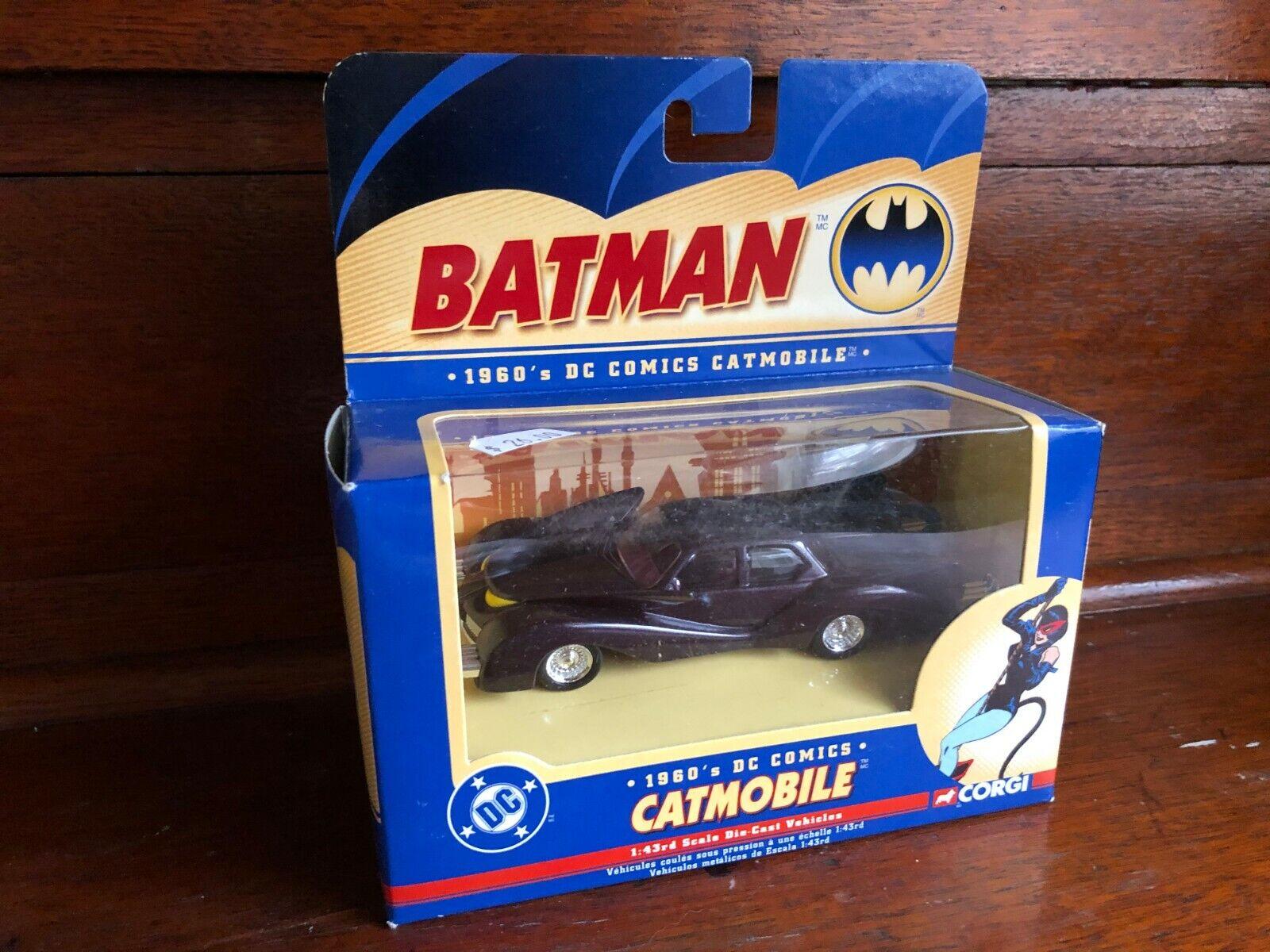 Corgi 2000 DC Comics SET OF 6 BATMAN 1 43 Scale Die-Cast Vehicle LOT (s11)