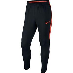 Masacre insulto meteorito  Nike 2017 Dry Academy Full Lenght Soccer Training Pants Black / Orange  Brand New | eBay