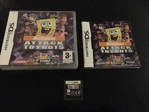 Nicktoons: ataque de los Toybots (Nintendo DS, 2007) - Versión Europea