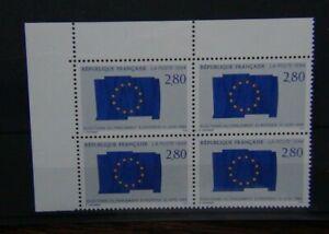 FRANCIA-1994-ELEZIONI-DEL-PARLAMENTO-EUROPEO-IN-BLOCCO-X-4-Gomma-integra-non-linguellato