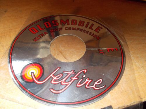1965 1966 1967 OLDSMOBILE JETFIRE ULTRA HIGH COMPRESSION AIR CLEANER DECAL 7 1//2