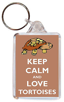 Keep Calm And Eat Cheese Personalised Large Keyring