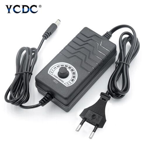 Adjustable Power Supply Adapter LED Display Speed Control 3-24V//9-24V 2//3A EU//UK
