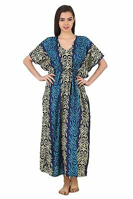 indian maxi dress batik robe  women/'s clothing long caftan kaftan maxi dress cotton caftan Caftan Long Floral Kaftan cotton kaftan