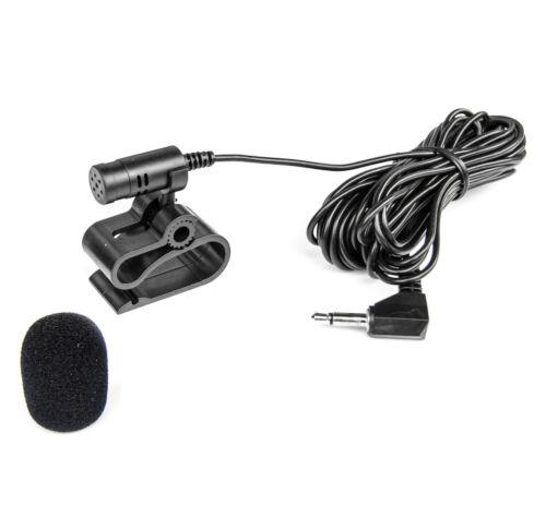 cortavientos Micrófono para Alpine Clarion Kenwood radio TomTom Navi 3,5mm manija