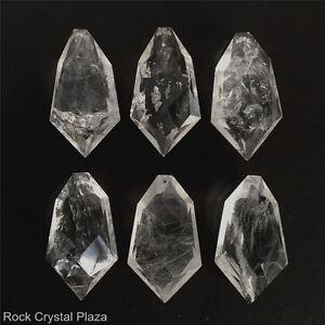 Natural rock crystal quartz chandelier pendants parts prisms full image is loading natural rock crystal quartz chandelier pendants parts prisms aloadofball Images