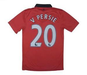 Manchester United 2013-14 ORIGINALE Maglietta V. PERSIE #20 (eccellente) S