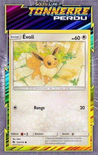Evoli SL08:Tonnerre Perdu 155//214 Carte Pokemon Neuve Française