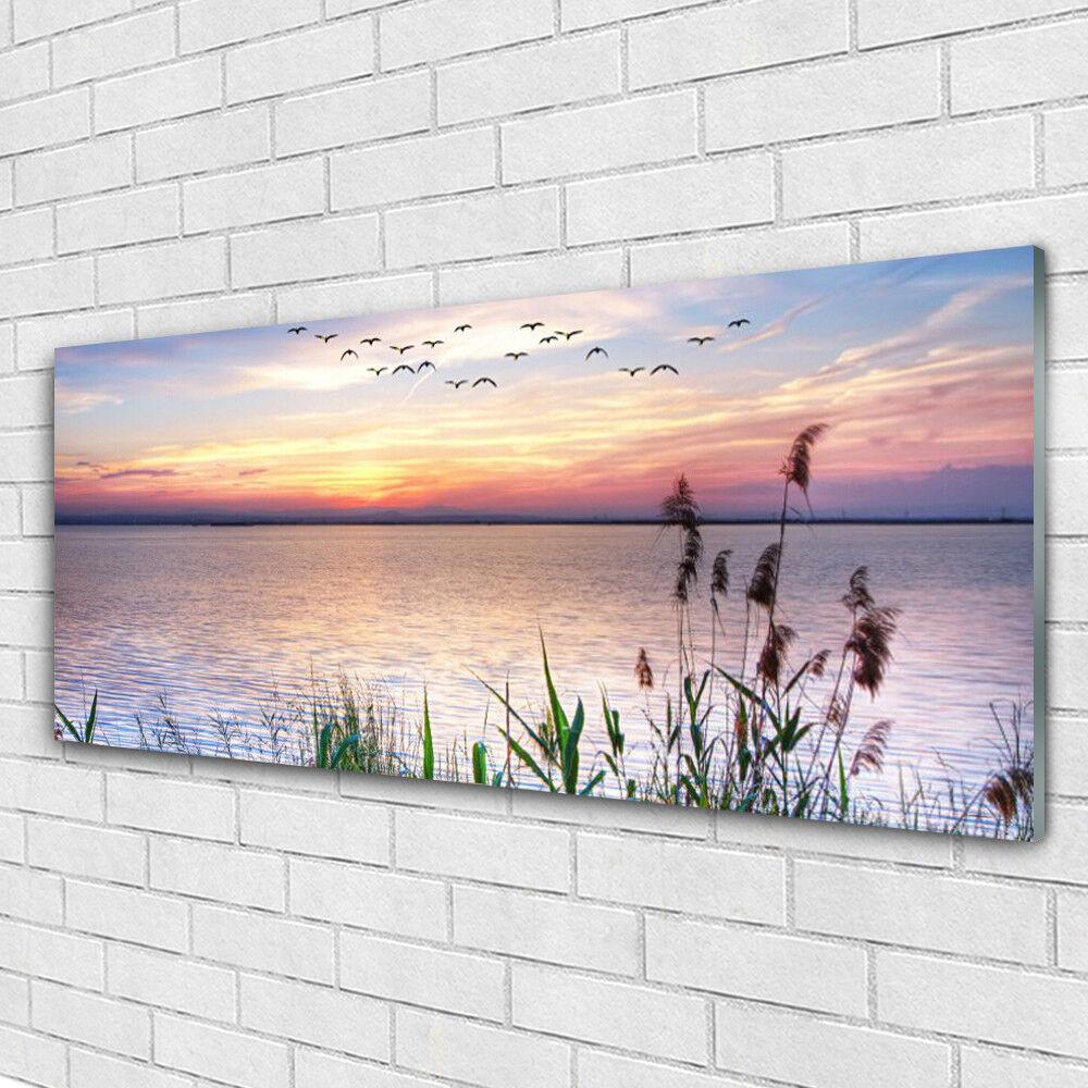 Acrylglasbilder Wandbilder aus Plexiglas® 125x50 Meer Landschaft