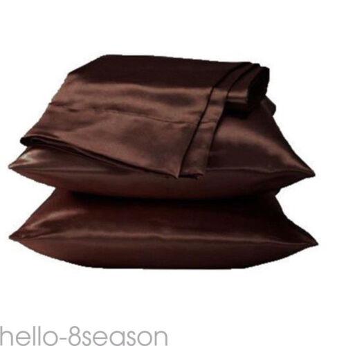 100/% Ice Silk Satin Single Pillow Case Cushion Cover Pillowcase Home Cushion gou