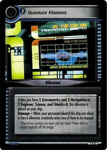 Star Trek CCG Call to Arms 3S7 DNA Analysis NrMint-MINT TCG